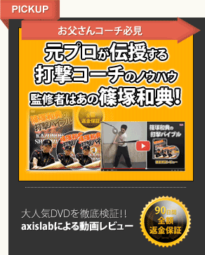 篠塚和典の打撃バイブル動画レビュー